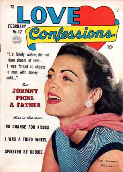 Cover for Love Confessions (Quality Comics, 1949 series) #17