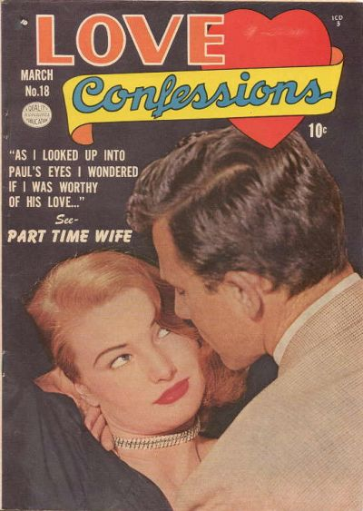 Cover for Love Confessions (Quality Comics, 1949 series) #18