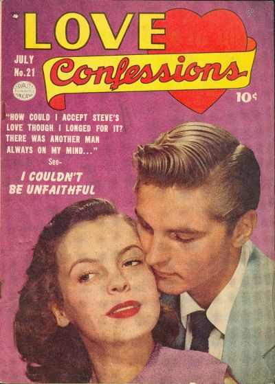 Cover for Love Confessions (Quality Comics, 1949 series) #21