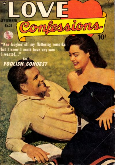 Cover for Love Confessions (Quality Comics, 1949 series) #23