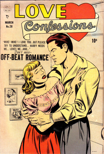 Cover for Love Confessions (Quality Comics, 1949 series) #28