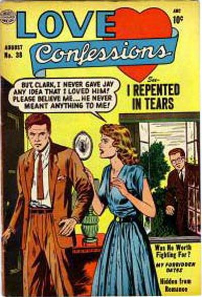 Cover for Love Confessions (Quality Comics, 1949 series) #38