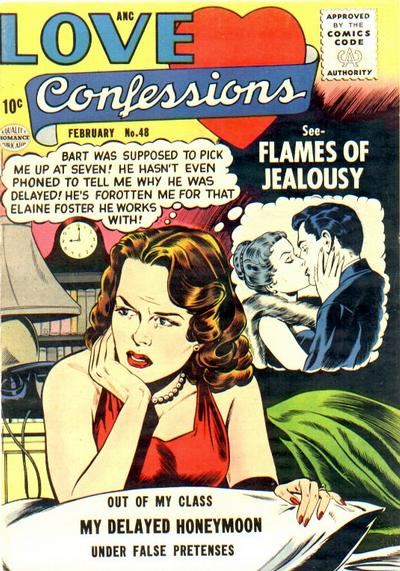 Cover for Love Confessions (Quality Comics, 1949 series) #48