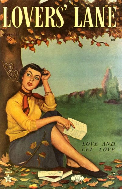 Cover for Lovers' Lane (Lev Gleason, 1949 series) #7