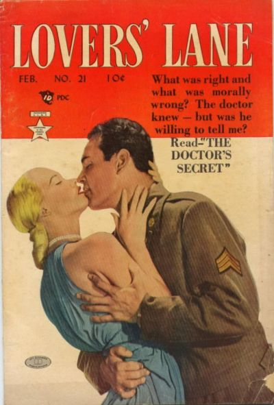 Cover for Lovers' Lane (Lev Gleason, 1949 series) #21