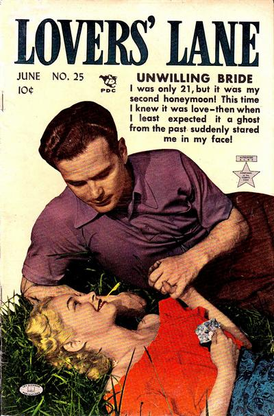 Cover for Lovers' Lane (Lev Gleason, 1949 series) #25