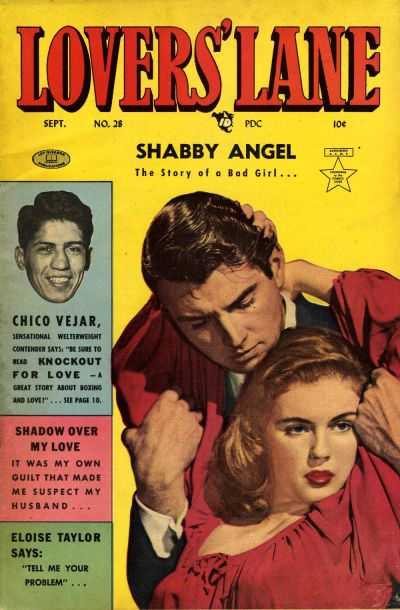 Cover for Lovers' Lane (Lev Gleason, 1949 series) #28