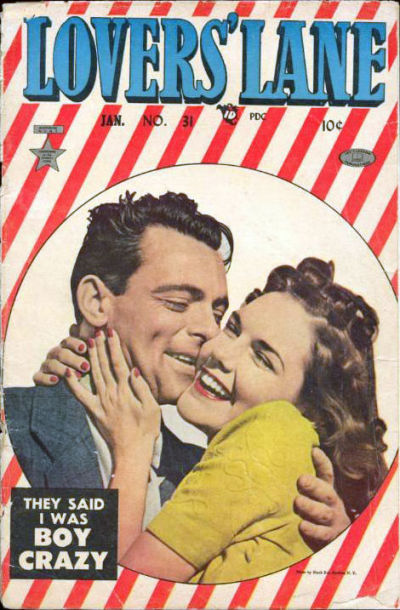 Cover for Lovers' Lane (Lev Gleason, 1949 series) #31