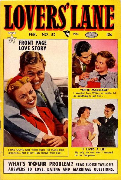 Cover for Lovers' Lane (Lev Gleason, 1949 series) #32