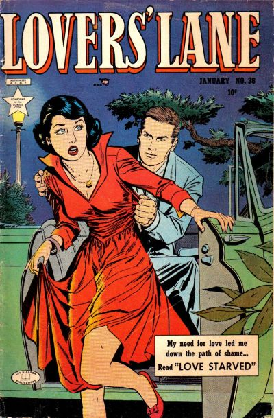 Cover for Lovers' Lane (Lev Gleason, 1949 series) #38