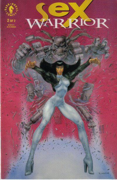 Cover for Sex Warrior (Dark Horse, 1993 series) #2