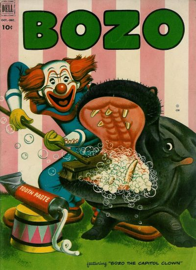 Cover for Bozo (Dell, 1952 series) #7