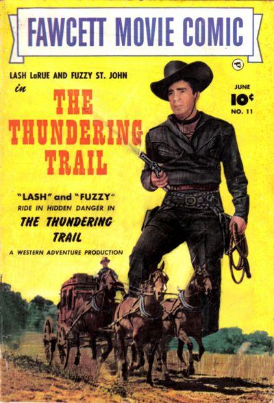 Cover for Fawcett Movie Comic (Fawcett, 1950 series) #11