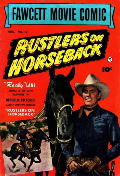 Cover for Fawcett Movie Comic (Fawcett, 1950 series) #12