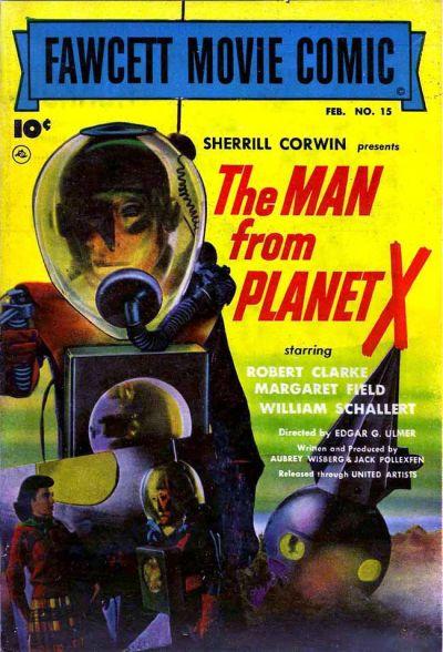 Cover for Fawcett Movie Comic (Fawcett, 1950 series) #15