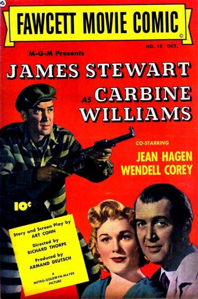 Cover for Fawcett Movie Comic (Fawcett, 1950 series) #19