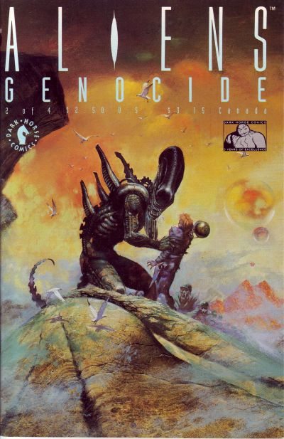 Cover for Aliens: Genocide (Dark Horse, 1991 series) #2