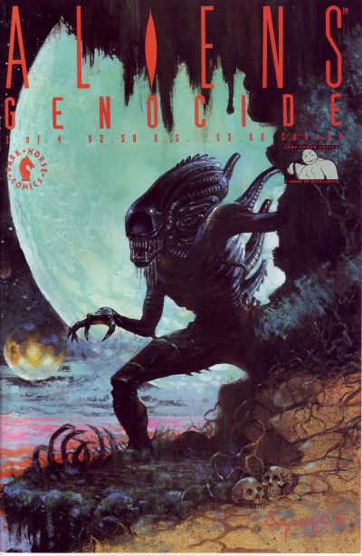 Cover for Aliens: Genocide (Dark Horse, 1991 series) #3