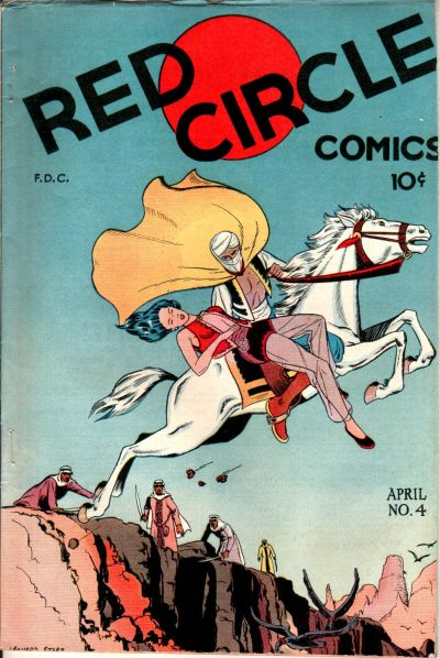 Cover for Red Circle Comics (Rural Home, 1945 series) #4 [Dorothy Lamour Contents]