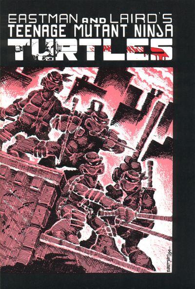 Cover for Teenage Mutant Ninja Turtles (Mirage, 1984 series) #1 [4th Print]