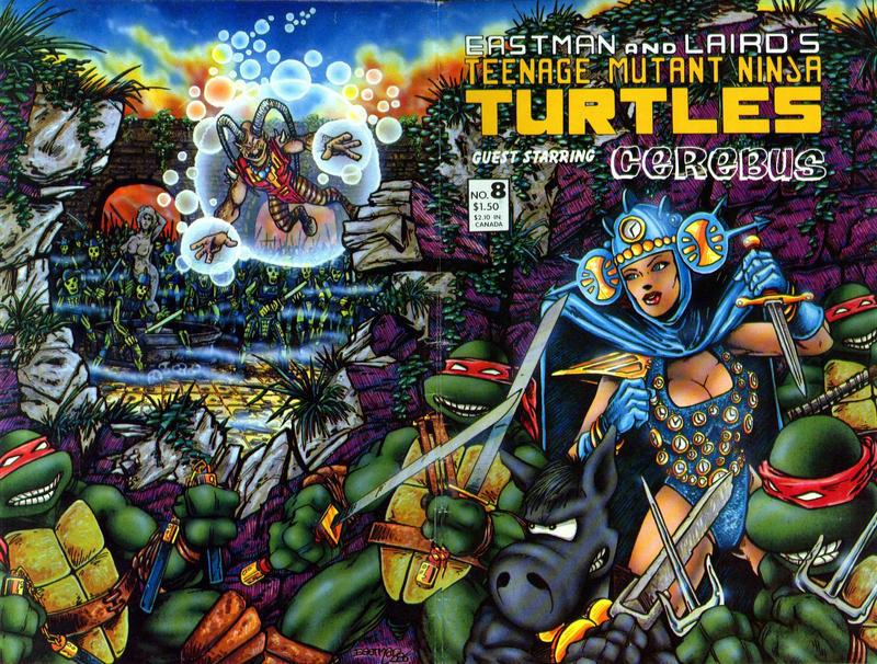 Cover for Teenage Mutant Ninja Turtles (Mirage, 1984 series) #8