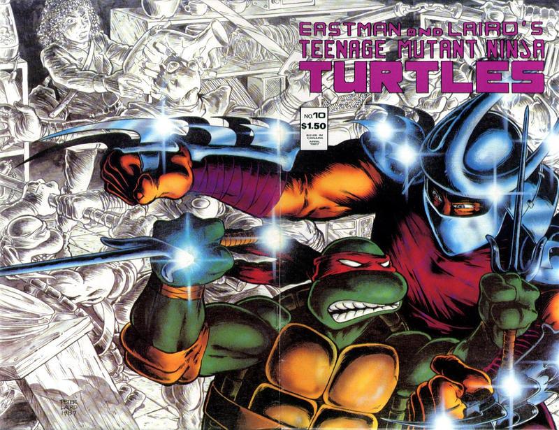 Cover for Teenage Mutant Ninja Turtles (Mirage, 1984 series) #10