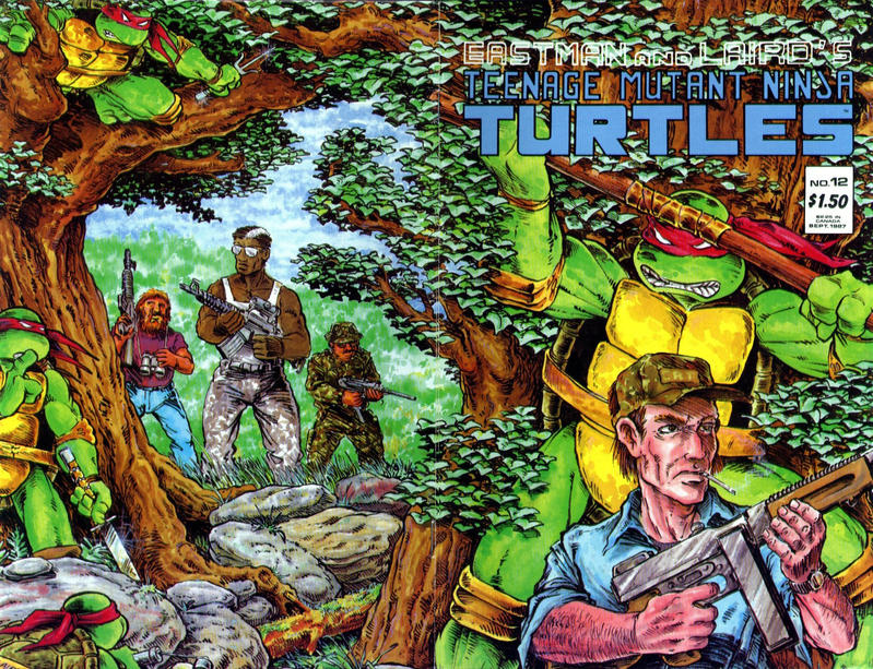 Cover for Teenage Mutant Ninja Turtles (Mirage, 1984 series) #12