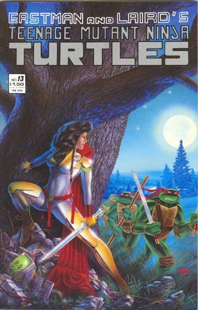 Cover for Teenage Mutant Ninja Turtles (Mirage, 1984 series) #13