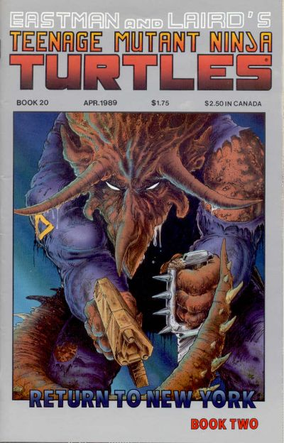 Cover for Teenage Mutant Ninja Turtles (Mirage, 1984 series) #20
