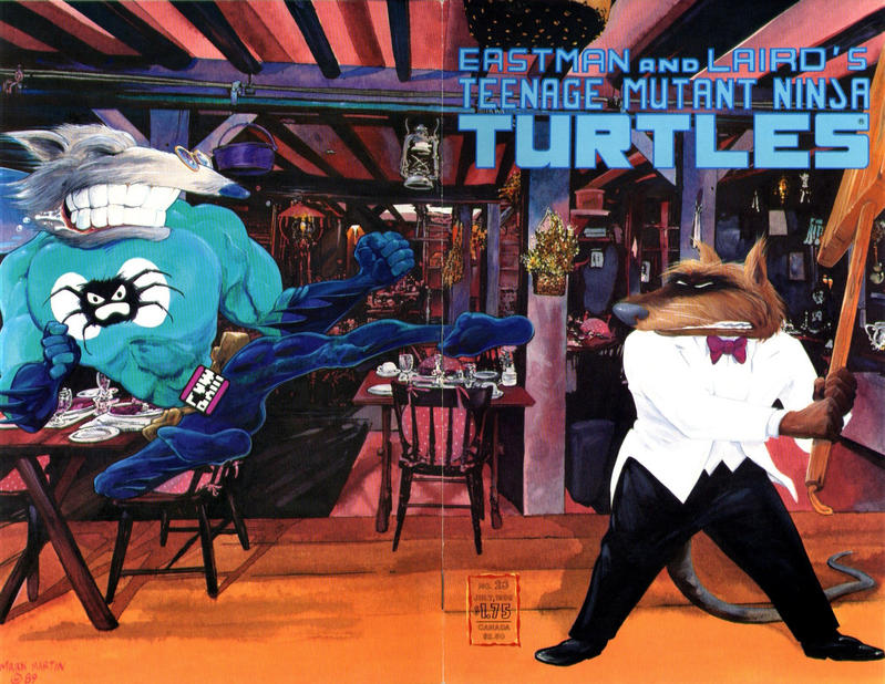 Cover for Teenage Mutant Ninja Turtles (Mirage, 1984 series) #23