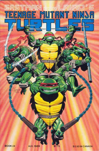 Cover for Teenage Mutant Ninja Turtles (Mirage, 1984 series) #24
