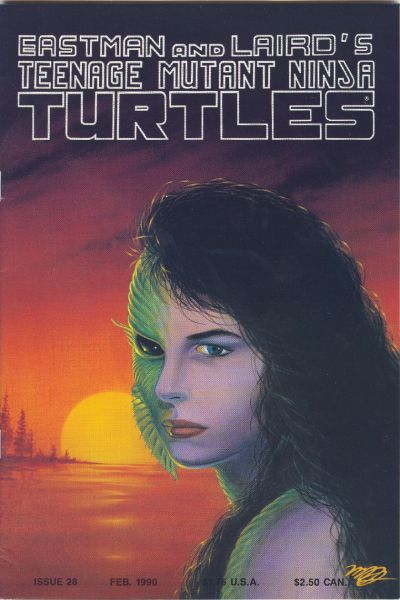 Cover for Teenage Mutant Ninja Turtles (Mirage, 1984 series) #28