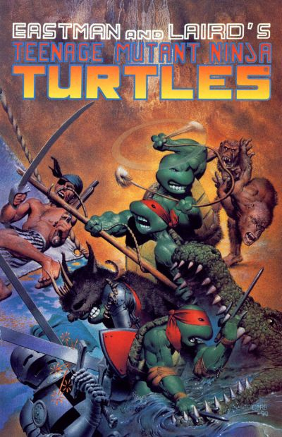 Cover for Teenage Mutant Ninja Turtles (Mirage, 1984 series) #33