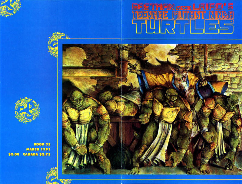 Cover for Teenage Mutant Ninja Turtles (Mirage, 1984 series) #35