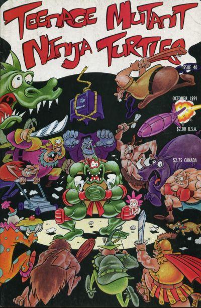 Cover for Teenage Mutant Ninja Turtles (Mirage, 1984 series) #40