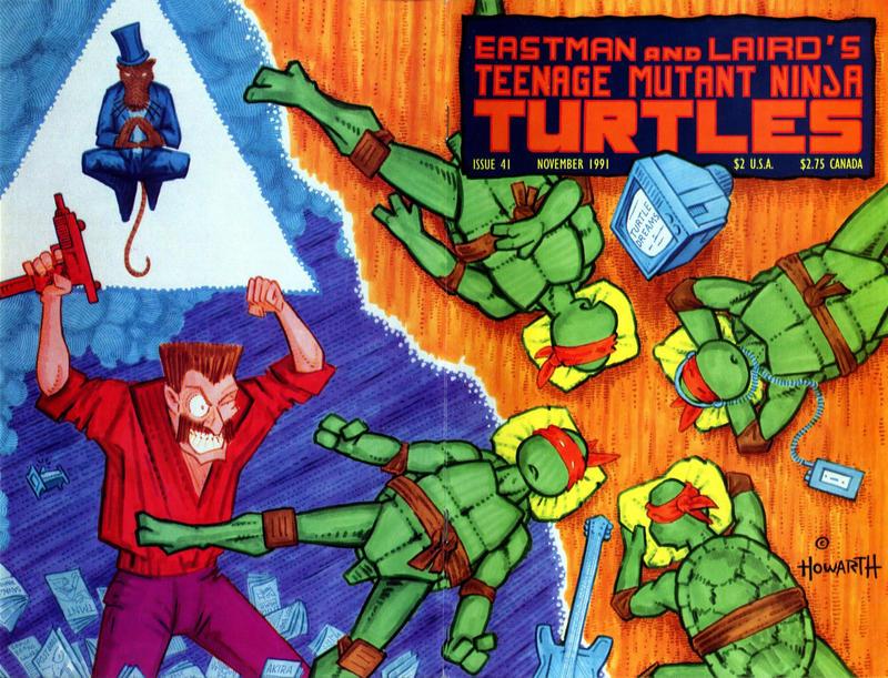 Cover for Teenage Mutant Ninja Turtles (Mirage, 1984 series) #41