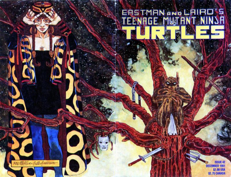 Cover for Teenage Mutant Ninja Turtles (Mirage, 1984 series) #42