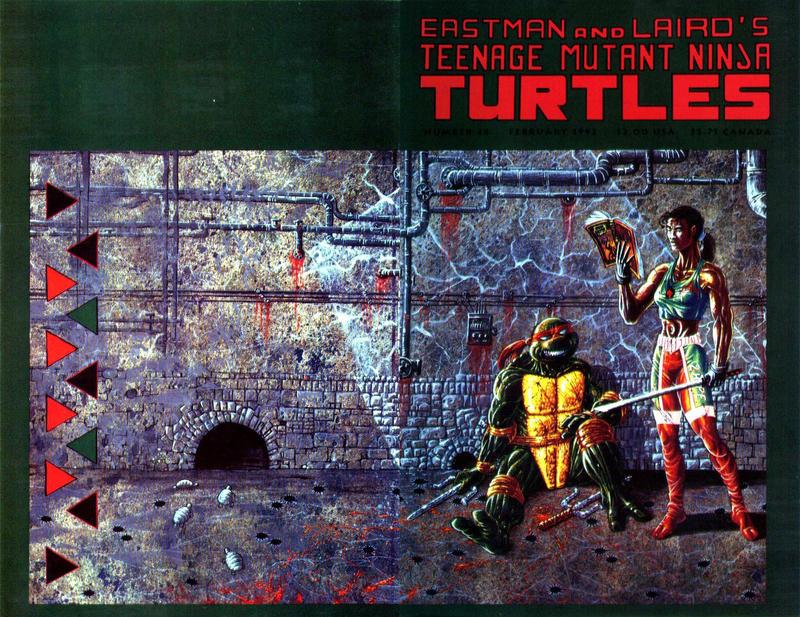 Cover for Teenage Mutant Ninja Turtles (Mirage, 1984 series) #44