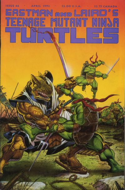 Cover for Teenage Mutant Ninja Turtles (Mirage, 1984 series) #46
