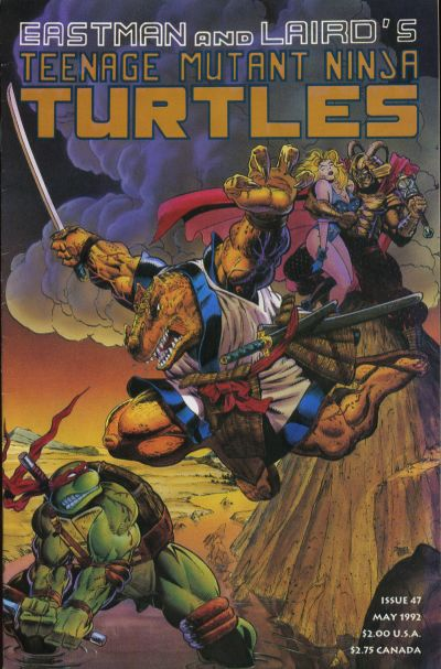 Cover for Teenage Mutant Ninja Turtles (Mirage, 1984 series) #47