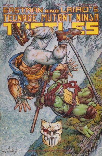Cover for Teenage Mutant Ninja Turtles (Mirage, 1984 series) #49
