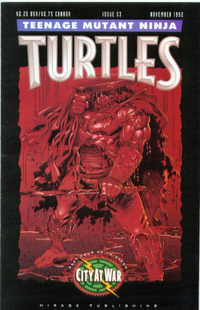 Cover for Teenage Mutant Ninja Turtles (Mirage, 1984 series) #53
