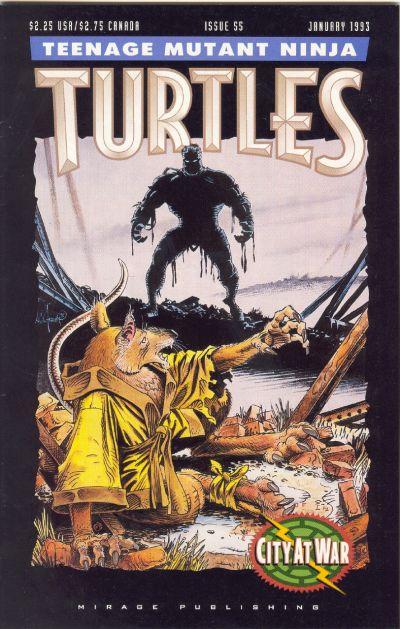 Cover for Teenage Mutant Ninja Turtles (Mirage, 1984 series) #55