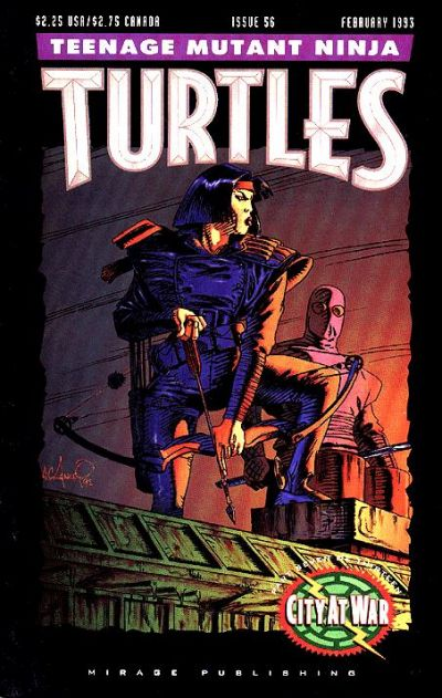 Cover for Teenage Mutant Ninja Turtles (Mirage, 1984 series) #56