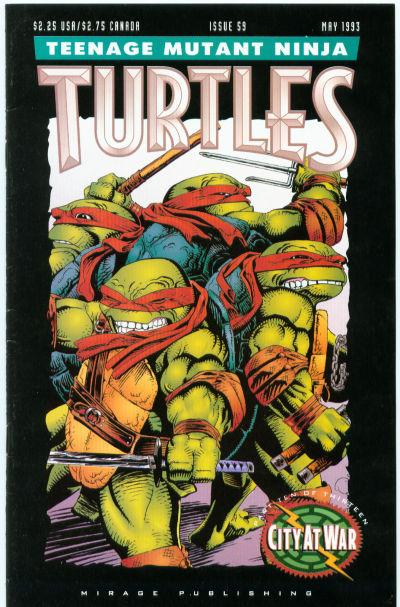 Cover for Teenage Mutant Ninja Turtles (Mirage, 1984 series) #59