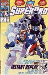 Cover for NFL Superpro (Marvel, 1991 series) #3 [Direct]