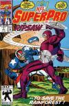 Cover for NFL Superpro (Marvel, 1991 series) #7 [Direct]