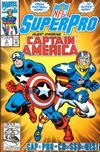 Cover for NFL Superpro (Marvel, 1991 series) #8 [Direct]