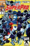 Cover for NFL Superpro (Marvel, 1991 series) #9 [Direct]