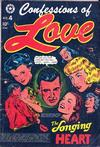 Cover for Confessions of Love (Star Publications, 1952 series) #4